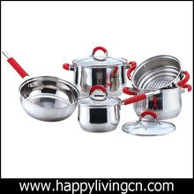 stainless steel high end cookware pots for europe market