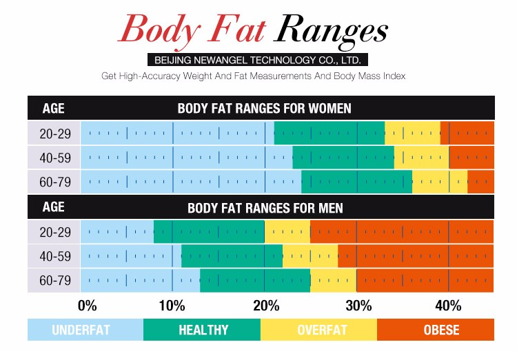 Good price human composition body fat calculator machine