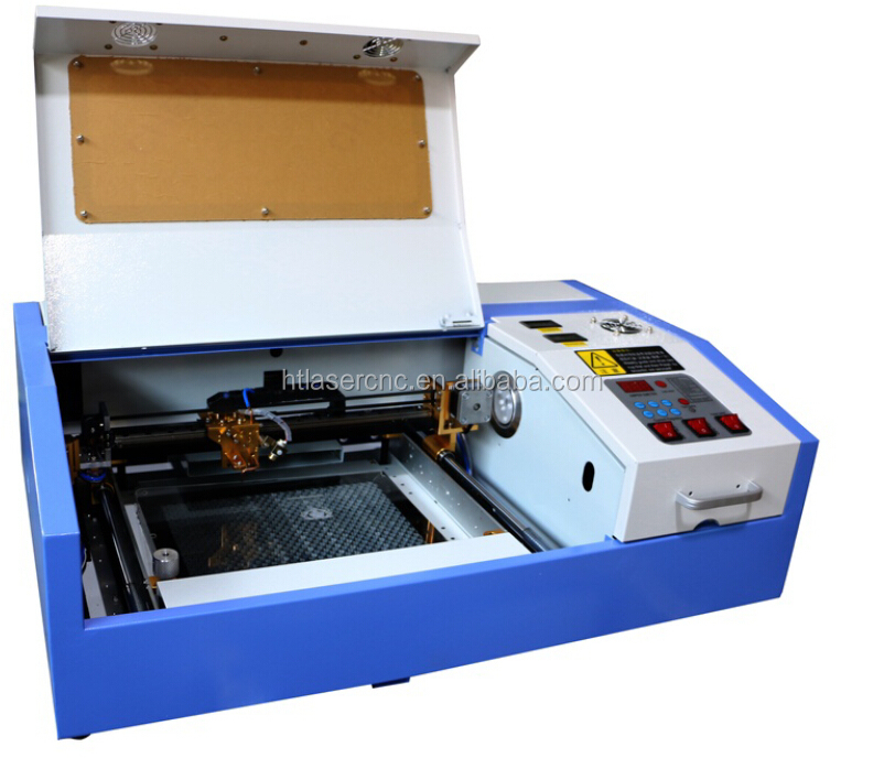 20*30cm corellaser system mini co2 40w cheap laser rubber stamp/silicone bracelets engraving machine
