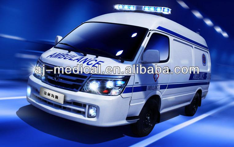 Best-Selling Intensive Transport LHD ambulance vehicle