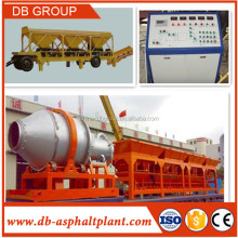 Portable Hot Mix Asphalt plant / Mobile mini Asphalt Batcher SLB8/SLB10/SLB20/Slb30