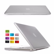 New Crystal/Matte shell case cover for Macbook Air Pro Retina 11.6 12 13.3 15.4 inch laptop Cases For Macbook bag
