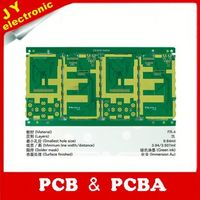 customized Isola 4 layer PCB board fabrication