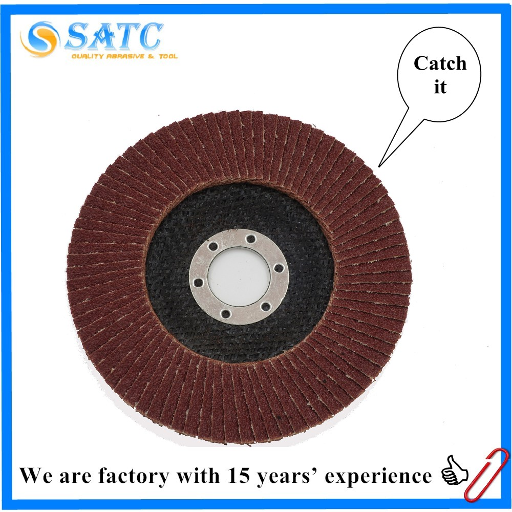 SATC flexible newest flap disc grinding and polishing for automobile