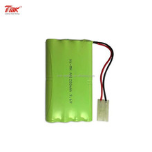 TMK 9.6V AA1200mAh NiMH battery pack with Tamiya connector for RC cars/toys