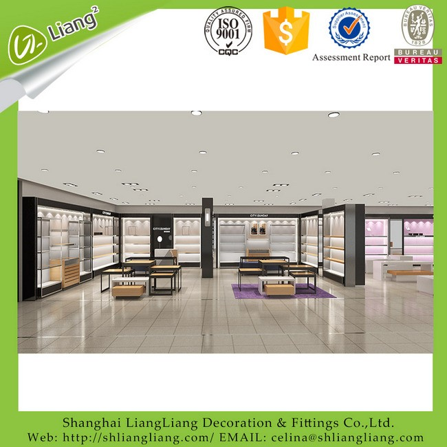 electronic shop interior design