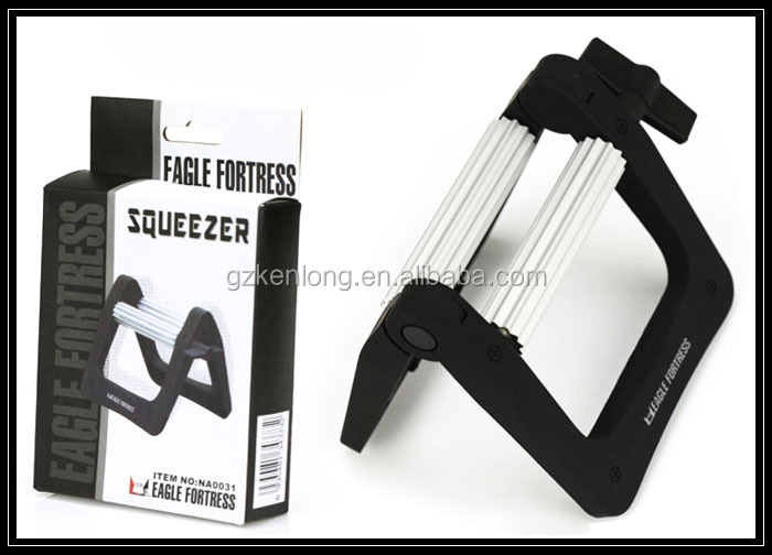 Hairdressing beauty salon hair color tube squeezer
