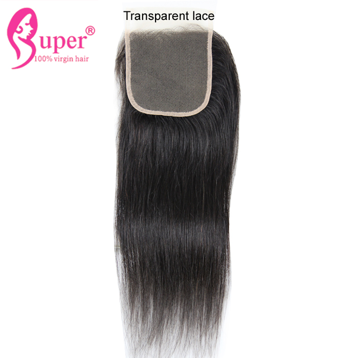 Affordable Cheap Wholesale Virgin Remy Straight Brazillian Hair With Free Part 7 By 7 Lace Closure