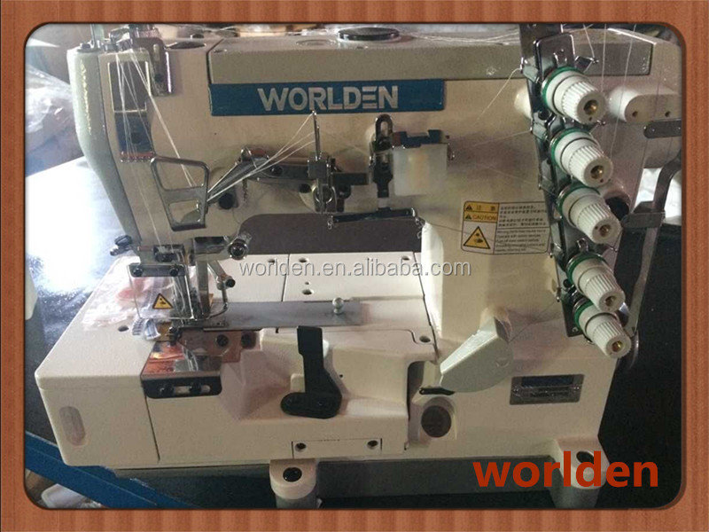 500-02BB High Speed Flat-bed Interlock Industrial Sewing Machine with Tape Binding( edge rolling )