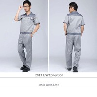 High quality Cheap safety engineering working uniform,100% polyester classic workwear