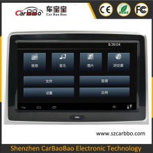 10.1 inch Android System touch screen car dvd player headrest monitor