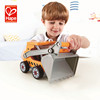 Customized cheapest children friction tow truck toy