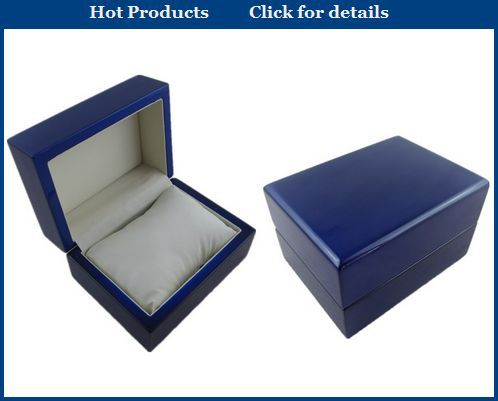 Customer glossy watch box wood,lacquer painting wooden watch box,black watch box wood