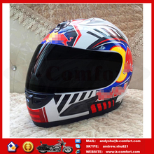 REDBUL52 Factory supply High quality best ABS Motorcycle full face helmets for sale