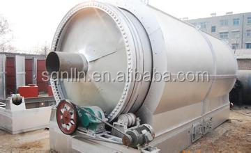 oil refining plant waste plastic tyre recycling equipment