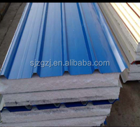 High quality metal roofing prices roof sandwich panel prefabricated wall panels