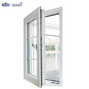 Energy efficient aluminium double glazed casement window price