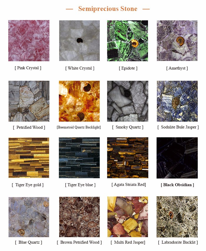 Nature gemstone slab and tile for feature wall decor blue agate