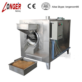 2015 Hot Selling Professional Electric Type Industrial 80-120kg/h Peanut Roasting Machine