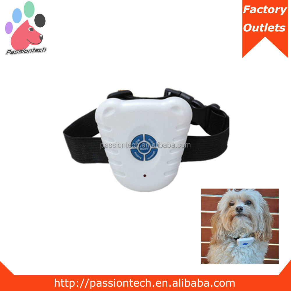 White Dog Barking Controller Ultrasonic Anti Bark Collar