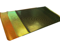 Hot Sale Rectangular Iridescent Rivets Contemporary Table Mat