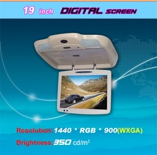 15 inch car led tv monitor with usb,remote control