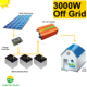 3kw small complete solar systems