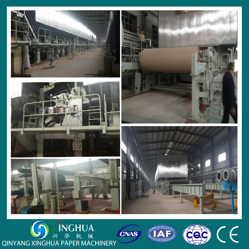3200mm fourdrinier type grey back and white top duplex board paper making machine