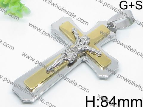 Seductive design fashion cross motor cycle pendant necklace