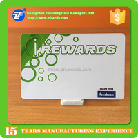 Low cost printed rfid F08 reward card with security system