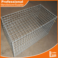 HOT DIPPED GALVANIZED WELDED WIRE MESH DECO GABION