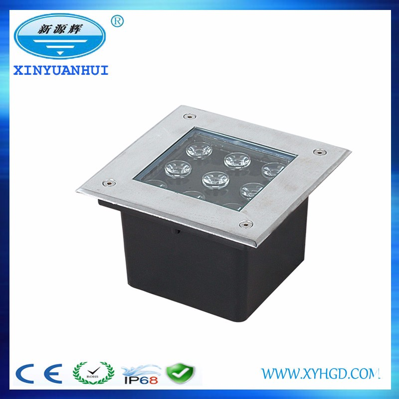 low voltage lighting ce rohs led inground lights in concrete recessed inground led light 18w
