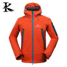 Printing your own logo for men jacket softshell jacket