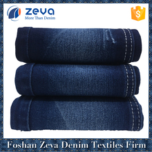 Foshan factory manufacture satin cotton polyester spandex stretch denim fabric