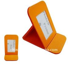 2012year Foldable desktop photo frame for single picture