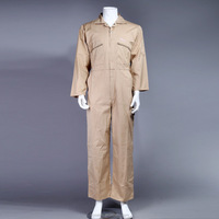 65%polyester35%cotton coverall safety workwear overall work uniform