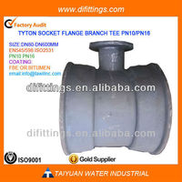TAWIL Ductile Cast Iron bend tee reducer Pipe Fittings