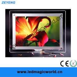 High Quality magnetic led gifts new product led lighted poster