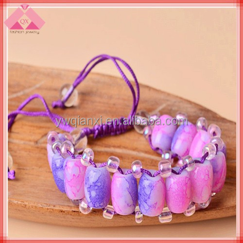 Sea Glass Cuff Jade Fashion National Bracelets For Wholesale-BR15086