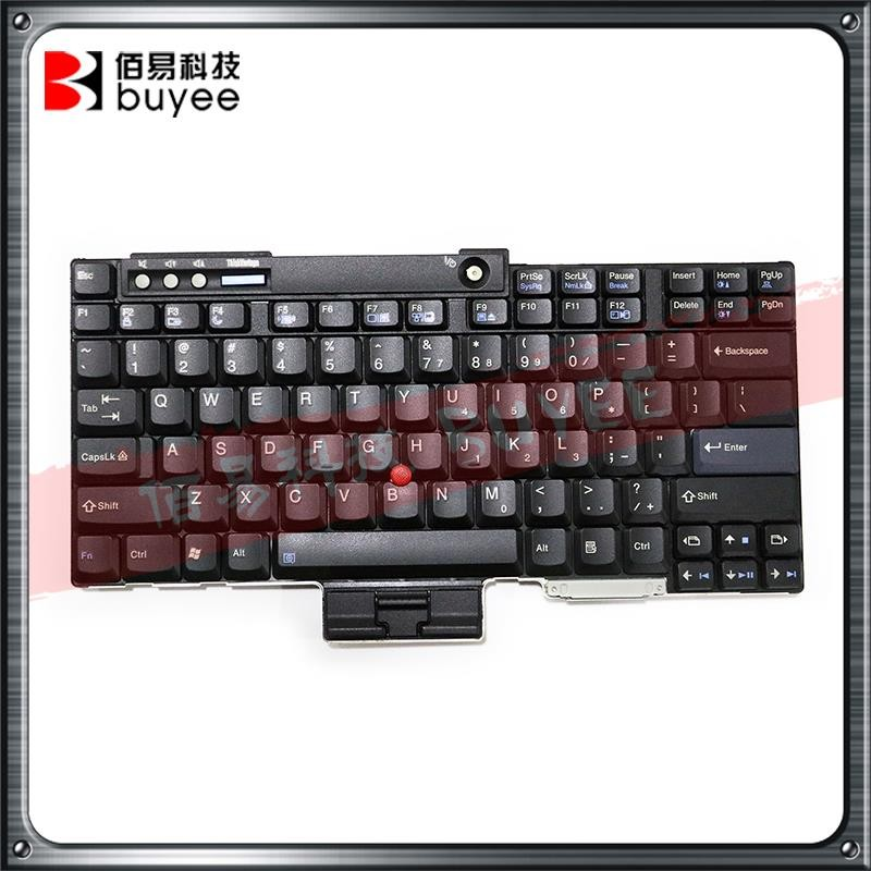 Wholesale For Lenovo IBM US Keyboard Black Layout T60 T60P T61 T61P R60 R61 T400 R400 W500 Replacement