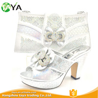 Promotional Various Durable Using High-Class Wedding Shoes And Matching Bag