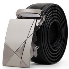 New Fashion formal automatic buckle Men leather belt