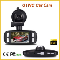 Full hd 1080P G-sensor g1w camera novatek dash cam g1w with loop record night vision dashcam