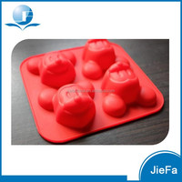 4 cups Food Grade Silicone Mickey Cake Mould