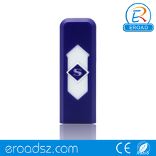 Eroad Hot Sale Windproof Rechargeable Flameless Cigarette No Gas e-Lighter USB Lighter