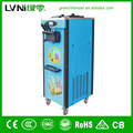 three flavor floor standing pre-cooling system ice cream roll machine