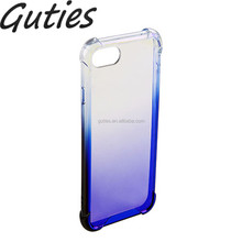 Factory Price shockproof tpu Mobile Phone Transparent case for iphone 7 7plus