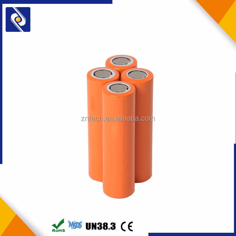 Hot sale hight quality 3.7V 2600MAH 18650 li-ion battery lithium rechange protected battery