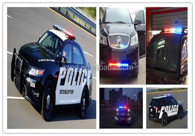 Ultra-thin super bright ambulance mini led light bars