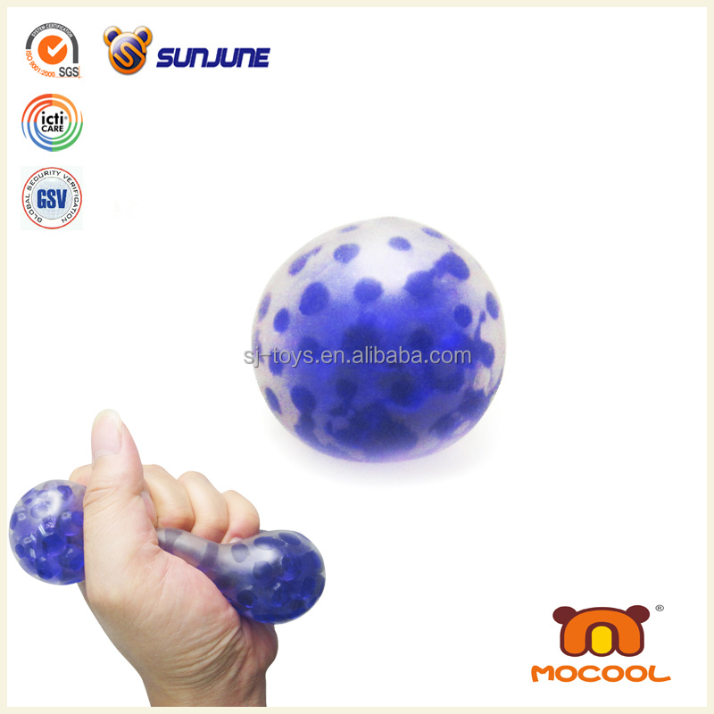 Hotsale emotional hairy squishy ball, custom stress squeeze ball promotional